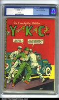 Golden Age (1938-1955):Crime, Young King Cole V3 #10 Mile High pedigree (Novelty Press, 1948) CGC VF/NM 9.0 White pages. L.B. Cole cover. Overstreet 2002 ...