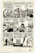 Original Comic Art:Panel Pages, Jack Kirby and Dick Ayers - Original Art for Fantastic Four #14,Page 11 (Marvel, 1963). As the team discuss how to confront...
