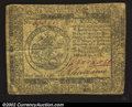 Colonial Notes:Continental Congress Issues, November 29, 1775, $5, Continental Congress Issue, CC-15, VG+. ...