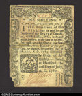 Colonial Notes:Connecticut, July 1, 1780, 1s, Connecticut, CT-234, VF for paper quality ...