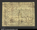 Colonial Notes:North Carolina, December, 1768, 40s, North Carolina, NC-132, Fine+. This note ...
