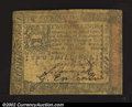 Colonial Notes:Pennsylvania, October 1, 1773, 2s, Pennsylvania, PA-164, Fine. A decent ...