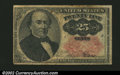 Fractional Currency:Fifth Issue, Fifth Issue 25c, Fr-1309, VG. There are several edge splits ...