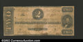 Confederate Notes:1862 Issues, 1862 $2 Judah P. Benjamin, T-54, VG. Numerous pinholes....
