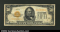 Small Size:Gold Certificates, 1928 $50 Gold Certificate, Fr-2404, Fine-VF. ...