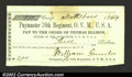 Obsoletes By State:Ohio, 1864 $3.00 Thomas Ellison, Sutler, 70th Regiment Ohio ...