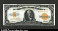 Large Size Gold Certificates:Large Size, 1922 $10 Gold Certificate, Fr-1173, Gem CU. A magnificent high ...