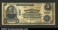 National Bank Notes:Kentucky, Louisville, KY - $5 1902 Plain Back Fr. 607 National ...