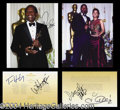 Autographs, 2002 Academy Awards Signed Relics Lot