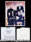 Autographs, The Addams Family Autograph Lot