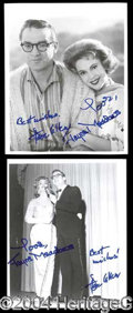 Autographs, Steve Allen & Jayne Meadows Autograph Photo Lot (2)