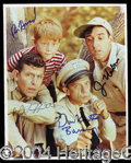 Autographs, The Andy Griffith Show Cast Signed Photograph