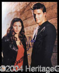 Autographs, Angel Signed 8 x 10 Cast Photograph