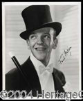 Autographs, Fred Astaire Signed 8 x 10 Photograph