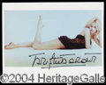 Autographs, Brigitte Bardot Sexy Signed Photo