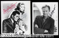 Autographs, Bewitched Vintage Signed Photo Lot
