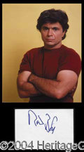 Autographs, Robert Blake Signature & Photograph