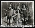 Autographs, Ray Bolger Wizard of Oz Signed Photo