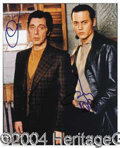Autographs, Donnie Brasco: Pacino & Depp Signed Photo