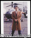 Autographs, Pierce Brosnan Signed 8 x 10 Photo