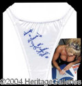 Autographs, Tylene Buck Signed Panties