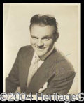 Autographs, James Cagney Signed Photograph