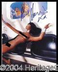 Autographs, Naomi Campbell Signed Nude Photo