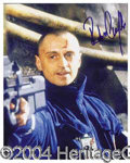 Autographs, Robert Carlyle (James Bond) Signed Photo