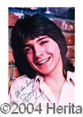 Autographs, David Cassidy Original '72 Signed Poster