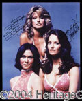 Autographs, Charlie's Angels Signed Photo