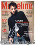 Autographs, Hayden Christensen (Star Wars) Signed Magazine