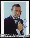 Autographs, Sean Connery Signed Photo 007