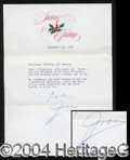 Autographs, Joan Crawford Typed Letter Signed