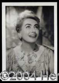Autographs, Joan Crawford Signed Vintage Photograph
