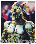 Autographs, Williem Dafoe Signed Spider-Man Photo