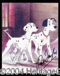 Autographs, 101 Dalmations Signed Photo