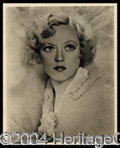 Autographs, Marion Davies Signed Vintage Photo