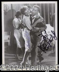 Autographs, Sammy Davis Jr. and Eartha Kitt Signed Photo