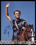 "Autographs, Kirk Douglas Signed ""Spartacus"" Photo"