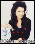 Autographs, Fran Drescher Signed Photo