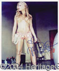 Autographs, Nicole Eggert Sexy Signed Photo