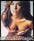 Autographs, Carmen Electra Signed Photo
