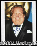 Autographs, Chris Farley Signed Photo