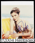 Autographs, Carrie Fisher Star Wars Signed Photo