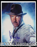 "Autographs, Harrison Ford Signed ""Indiana Jones"" Photo"