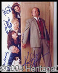 Autographs, Frasier Signed Cast Photo