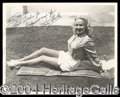 Autographs, Betty Grable Glamorous Signed Photo