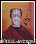 "Autographs, Fred Gwynne Signed ""Musters"" Photo"
