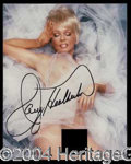 Autographs, Joey Heatherton Signed Playboy Photo