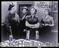 Autographs, The Honeymooners Cast Signed Photo